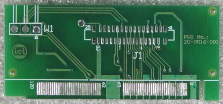 Adapter board - bottom
