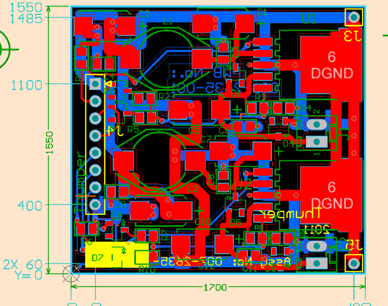 2D design view of future custom module