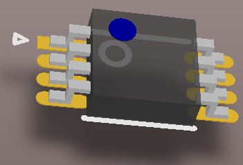 MSOP8 simple 3D body